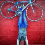 cyclist yoga